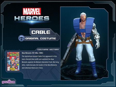Costume cable original