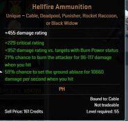 Hellfire Ammunition