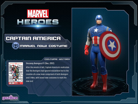 Costume captainamerica marvelnow