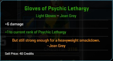 Equipment-Gloves-Gloves of Psychic Lethargy ( Jean Grey 6)