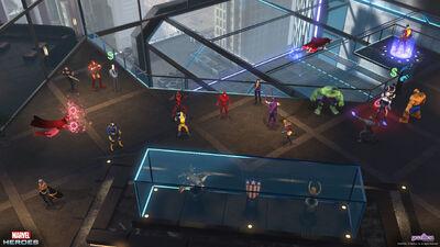 Avengers tower group shot 0