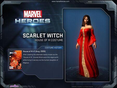 Costume scarletwitch houseofm