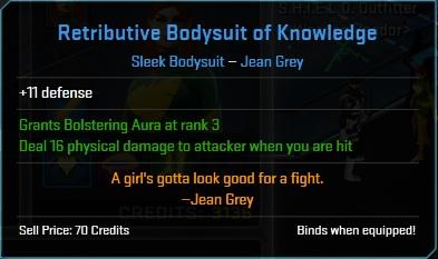 Equipment-Bodysuit-Retributive Bodysuit of Knowledge (Jean Grey 11)