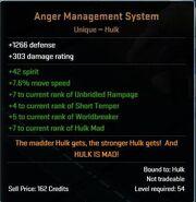 Anger Management System