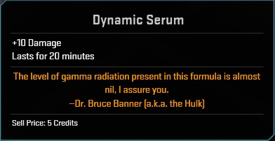 Consumable-Dynamic Serum