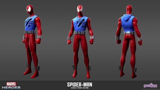 File:Spider-man Scarlet Spider Model.jpg