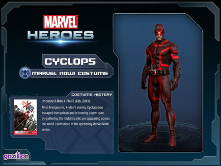 Costume cyclops marvelnow
