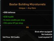 Baxter Building Microturrets