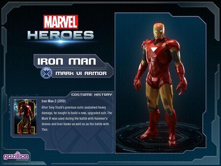 Costume ironman mark6