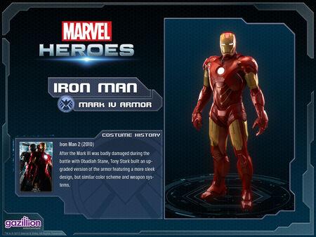 Costume ironman mark4