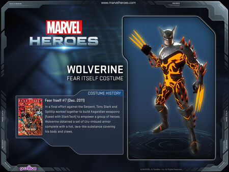 Costume wolverine fearitself