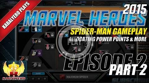 WTFast & Marvel Heroes 2015 Spider-Man Gameplay E2P2 Allocating Power Points & More