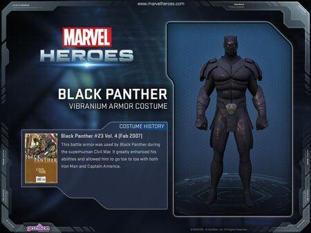 Costume blackpanther vibraniumarmor
