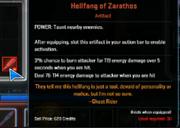 Marvel Heroes Artifact Hellfang of Zarathos Taunt & Tank 02
