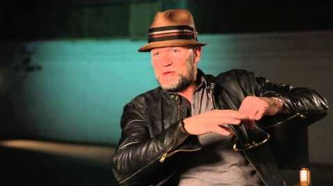 Marvel's Guardians of the Galaxy Michael Rooker Behind the Scenes Movie Interview