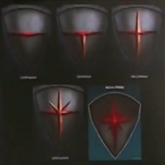 The Nova Corps Ranks: Corpsman, Millenian, Denarian, Centurion and Nova Prime