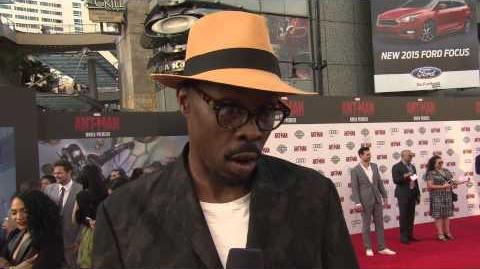 Ant-Man World Premiere Interview - Wood Harris