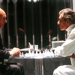 Charles and Erik in <i>X-Men</i> (2000).