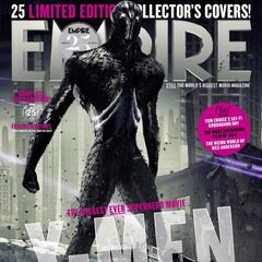 A Sentinel of the future on the cover of <i>Empire</i>.