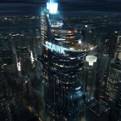 Stark Tower concept art