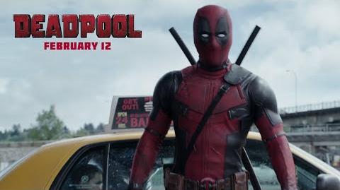 Deadpool Colossus throwing that tire, tho!!! 20th Century FOX