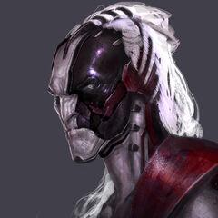Concept art of Malekith from <i>Thor: The Dark World</i>.
