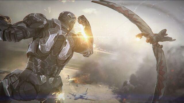 File:Captain America Civil War War Machine vs Falcon Concept Art.JPG