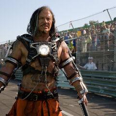 Mickey Rourke as Whiplash.