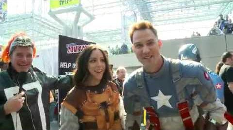 Clark, Chloe, and Gabriel Undercover at Comic-Con - Marvel's Agents of S.H.I.E.L.D.