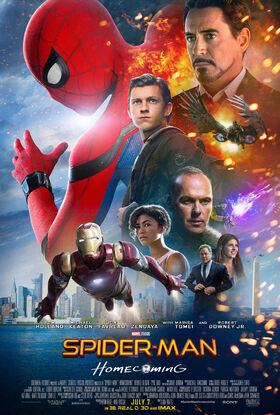 Spider-Man Homecoming Theatrical Poster 02