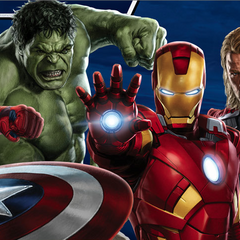 Avengers: Earth's Mightiest Heroes promo art.