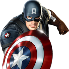 Concept art of Chris Evans as Captain America.