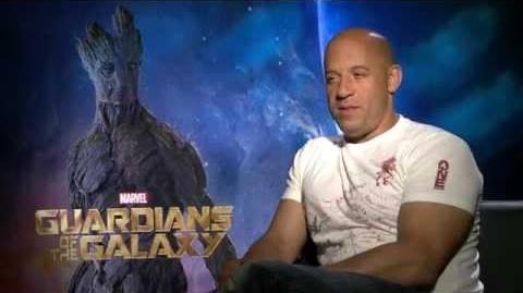 "Marvel's ""Guardians of the Galaxy"" - Vin Diesel Interview"