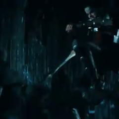 Sif fighting in Jotunheim.