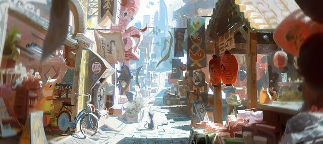 File:San Fransokyo Market Concept Art.jpg