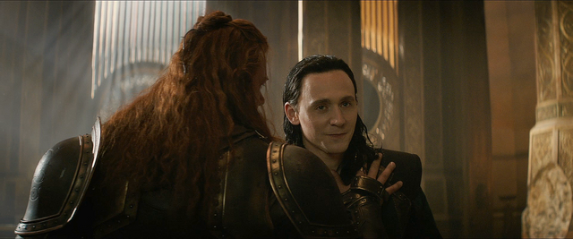 File:Thor The Dark World Volstagg and Loki.png