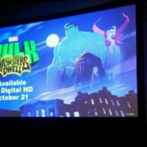 Logo for the film as seen at NYCC.