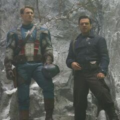 Rogers and Bucky