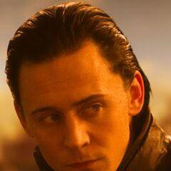 Loki looking at <a href=
