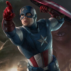 Cap's modern look from the Avengers.