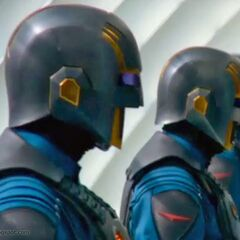 Nova Corps Officers