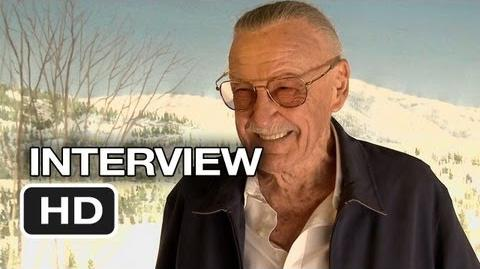 Iron Man 3 Interview - Stan Lee (2013) - Robert Downey Jr