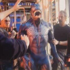 Unused costume for Venom.