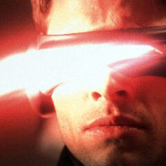 Cyclops firing an Optic Blast