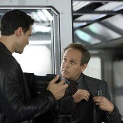 Ward talks to Elliot Randolph.
