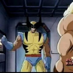 Wolverine prepares to interrogate Sabertooth.