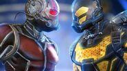 Ant-Man vs Yellowjacket