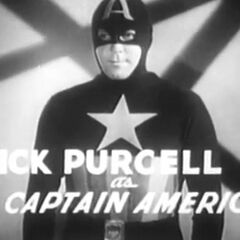 Dick Purcell as Captain America