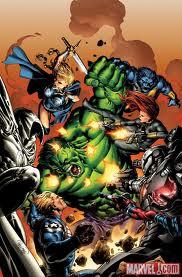 File:Hulk vs. Avengers comic.jpg