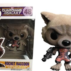 Ravager Rocket Raccoon flocked